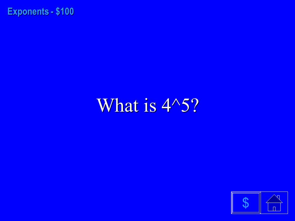 Inequalities - $500 The solution to six less than 4 times a number is greater than 30.