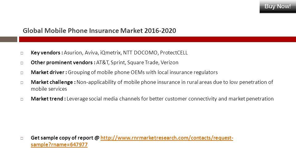 Global Mobile Phone Insurance Market WEBSITE Single User