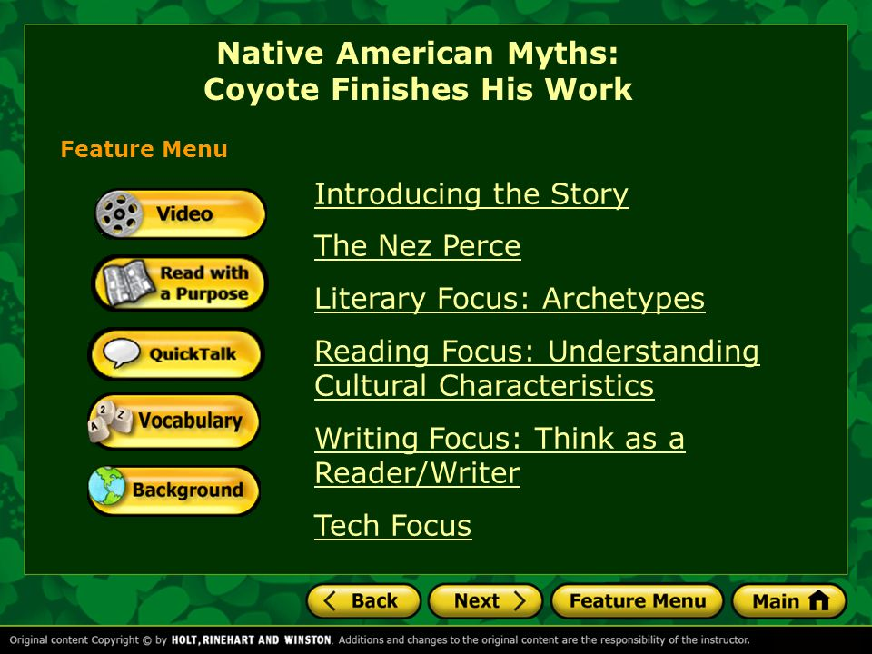 coyote finishes his work quizlet