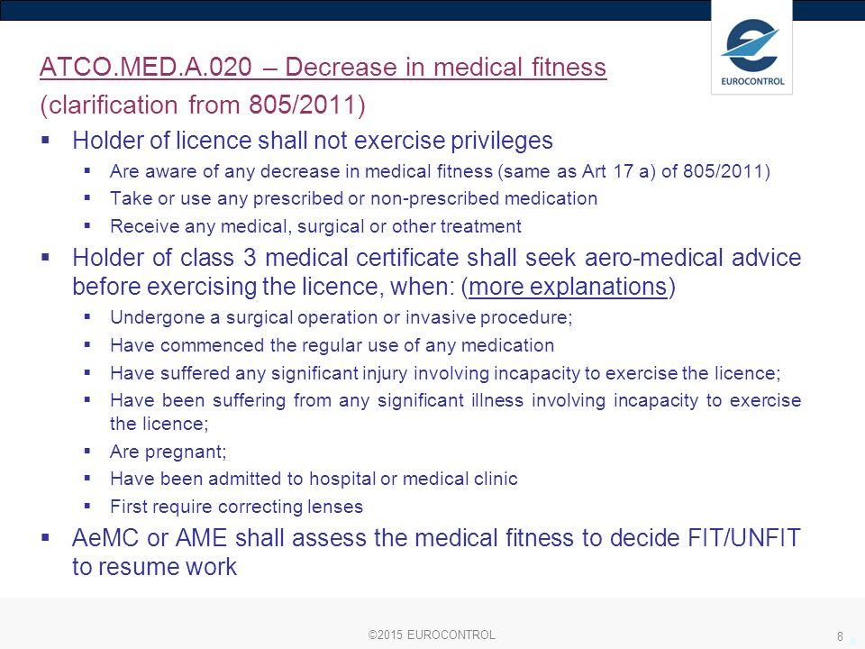 Module 07 Medical Certification Commission Regulation No 2015