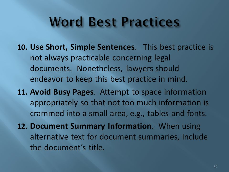 best font for legal documents