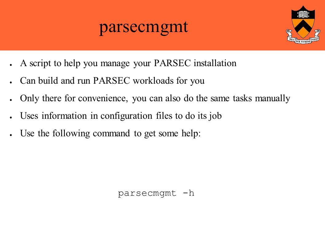 The PARSEC Benchmark Suite Tutorial - PARSEC by Christian Bienia