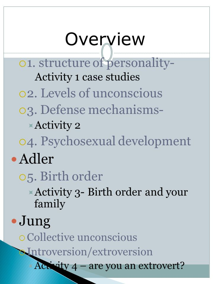 adler theory of personality development