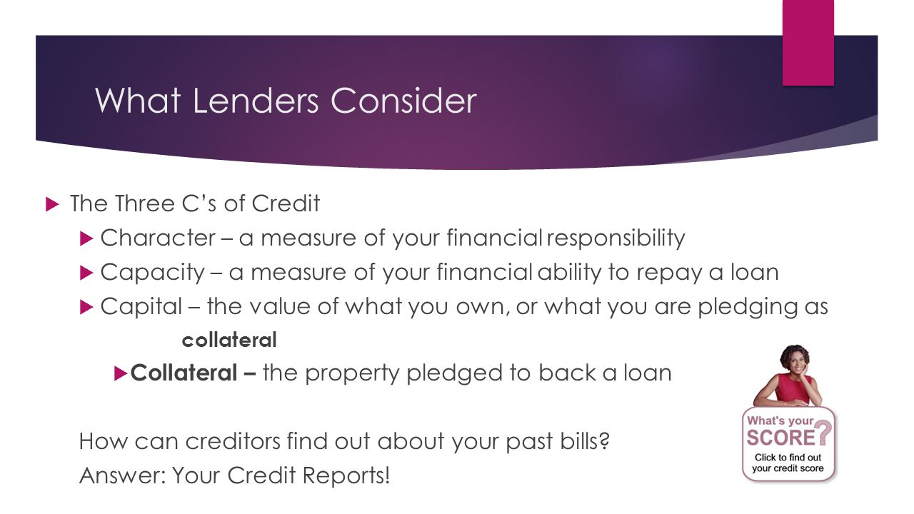 What you should consider when pledging a property for a loan