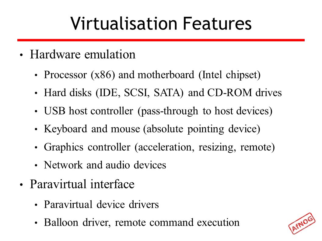 Virtualisation Exercise Installing VirtualBox Installing