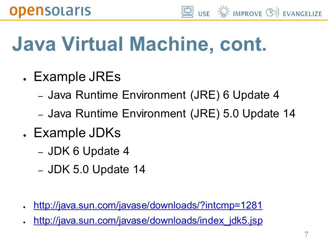 java virtual machine 1.5.0 20