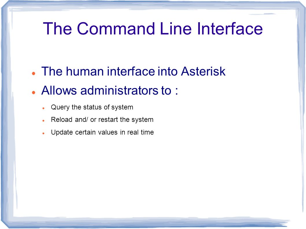Asterisk PBX  What is Asterisk ? A Full-featured open source (GPL