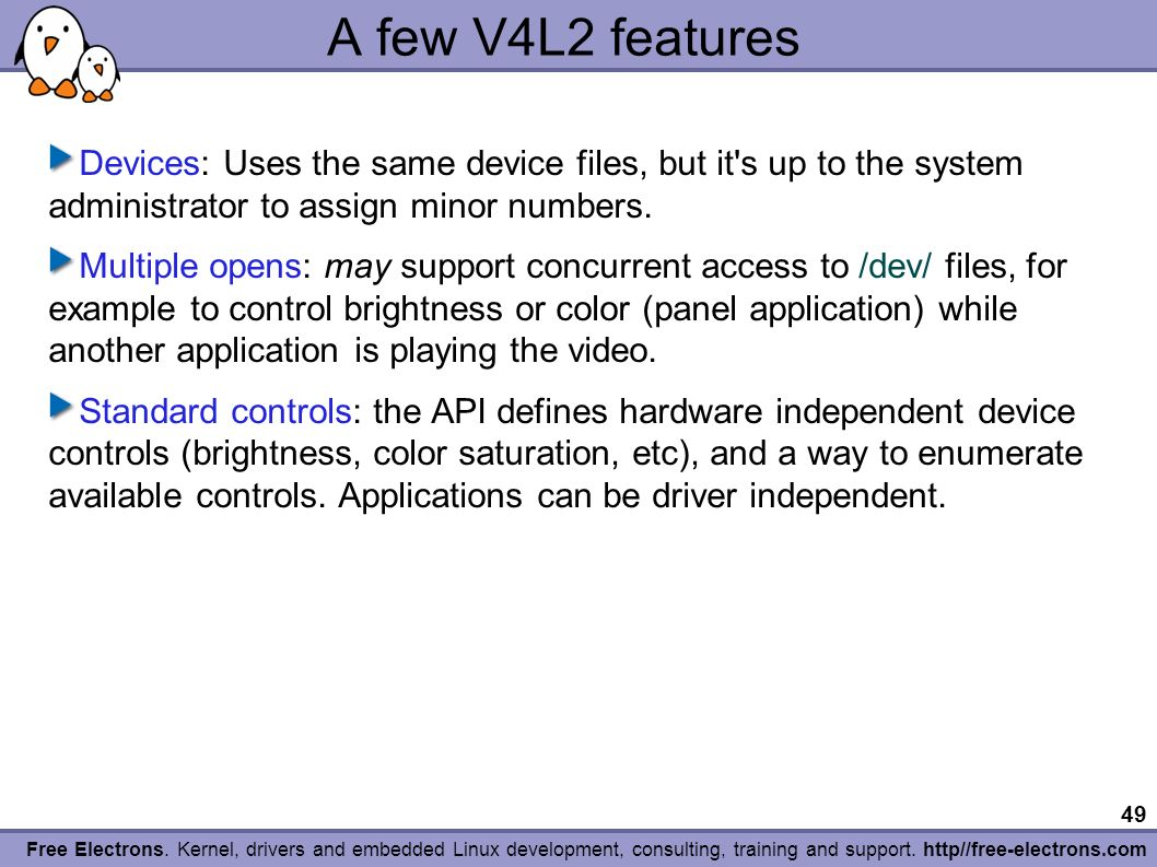 1 Free Electrons  Kernel, drivers and embedded Linux