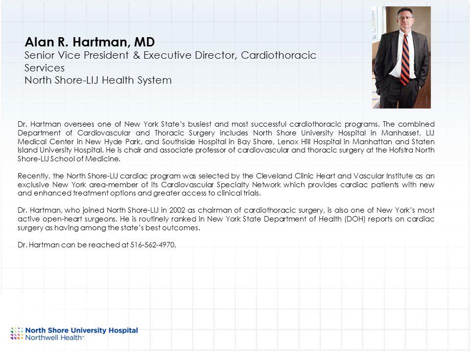 North Shore University Hospital Physician Leadership ppt