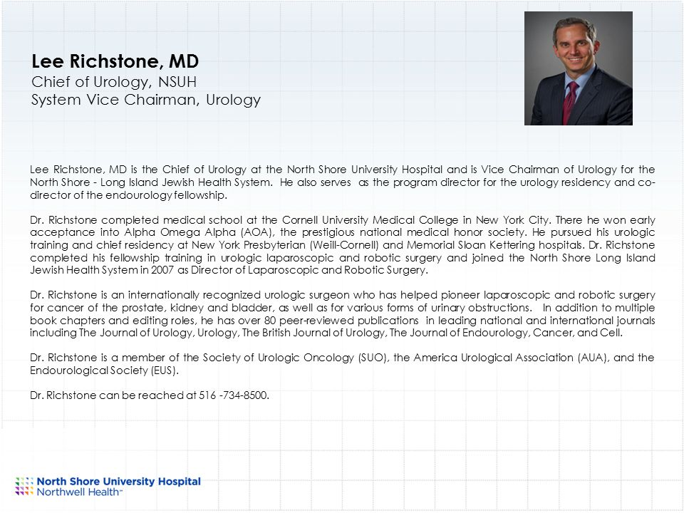 North Shore University Hospital Physician Leadership ppt