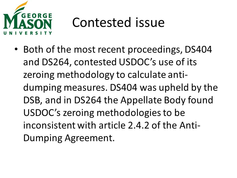 United States Ds 422 Anti Dumping Measures On Shrimp And Diamond