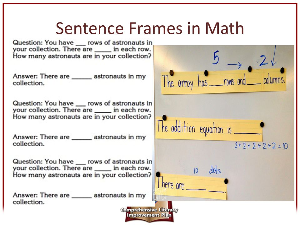 Leveling the Playing Field for ELLs Using Sentence Frames in the ...