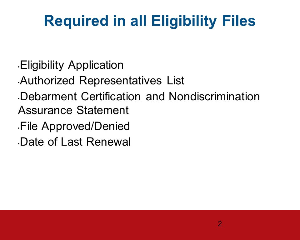 Us General Services Administration Eligibility And Compliance The