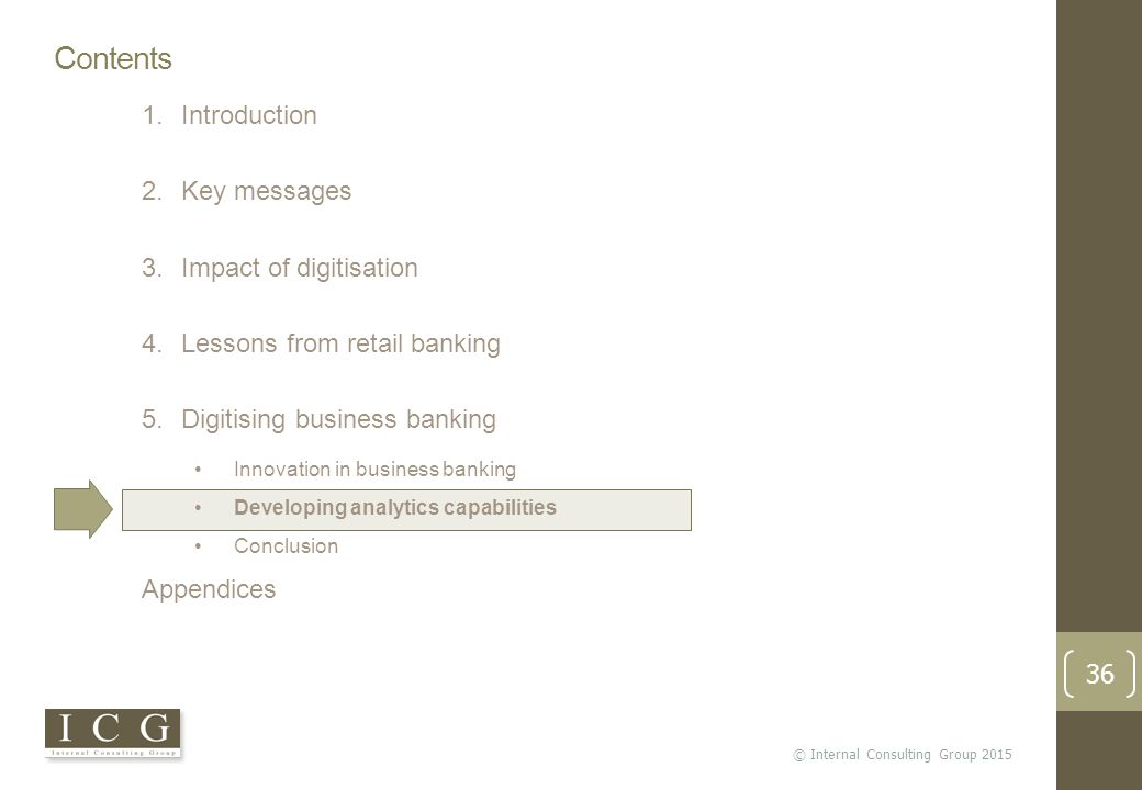 Knowledge Area Review Impact of digitisation on business