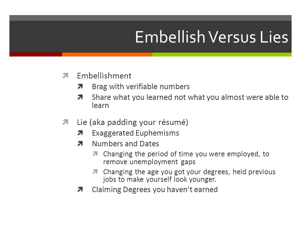 5 embellish