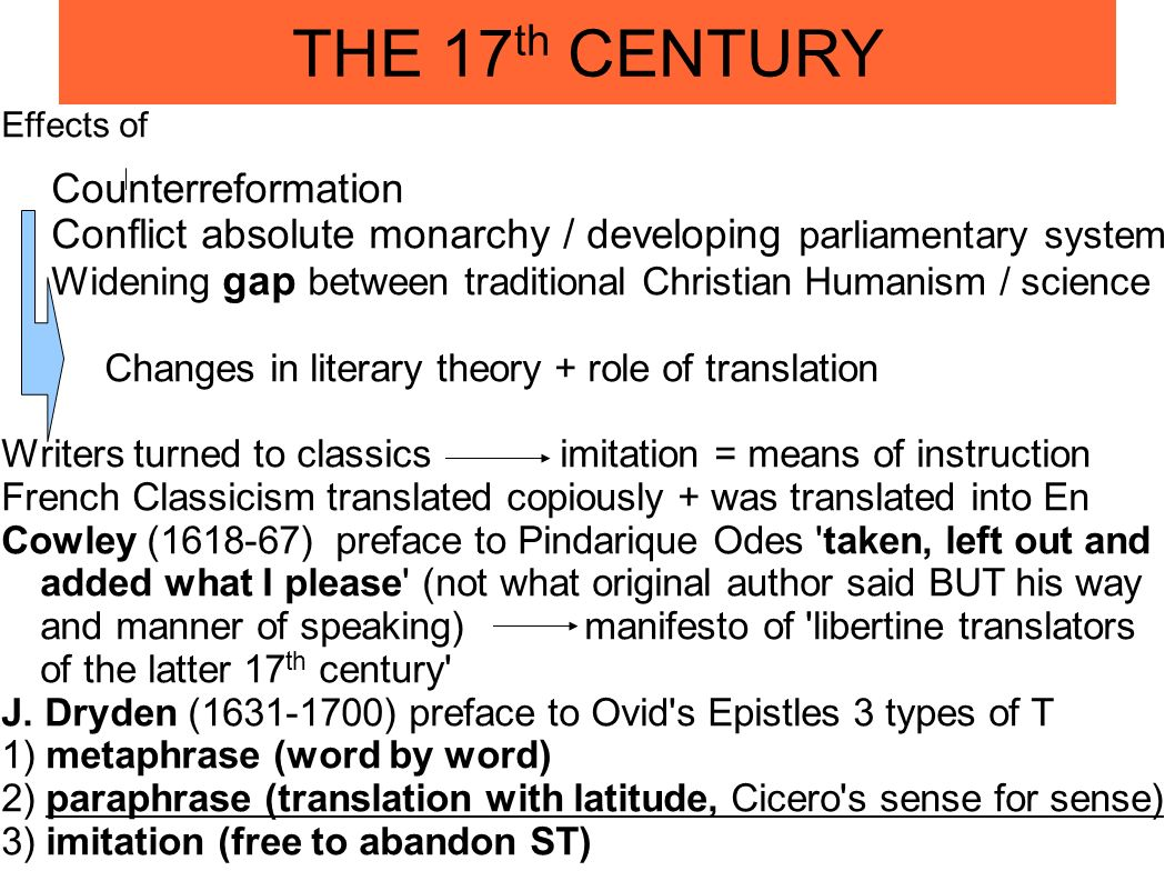 History Of Translation Theory Word For Sense Bible And Nationalism In Diachronic Perspective Important Ppt Download Metaphrase Paraphrase Imitation