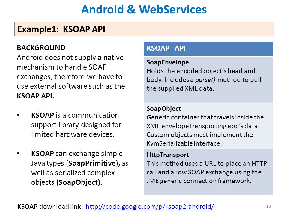 Lesson 16 Consuming Web Services Using SOAP and REST Apps Victor