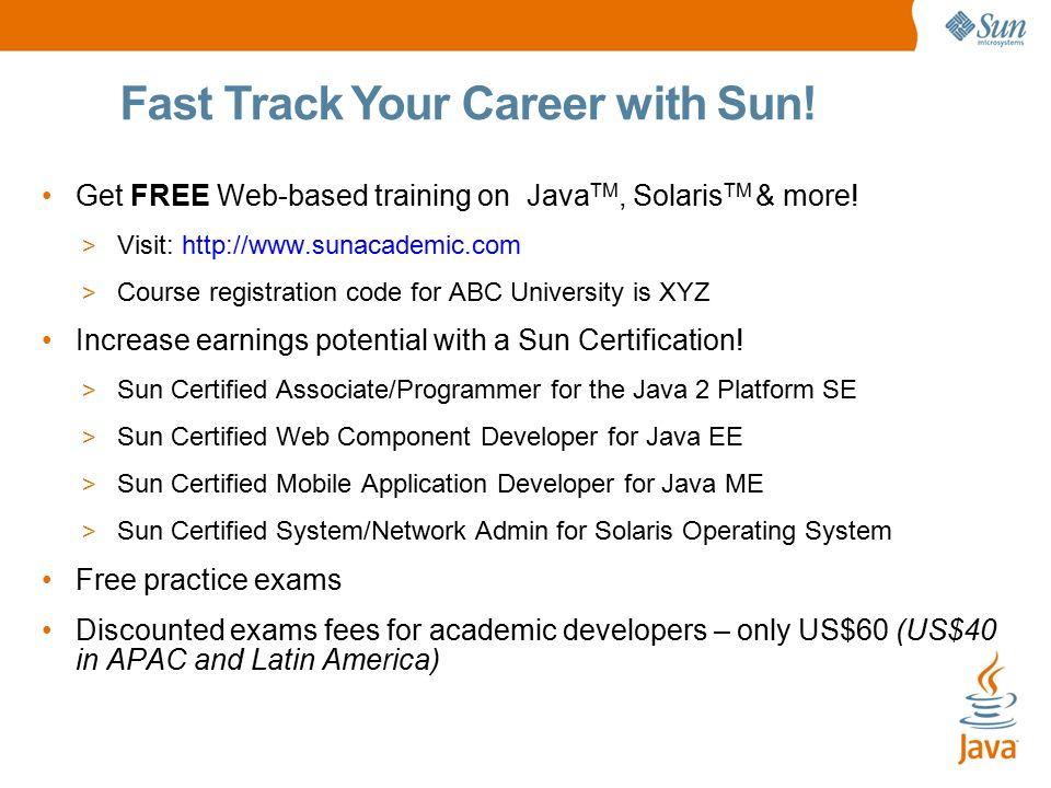 Sun Small Programmable Object Technology (Sun SPOT) Your