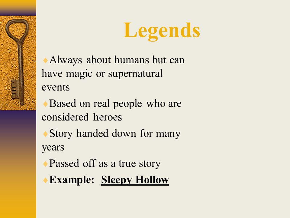 is sleepy hollow a true story