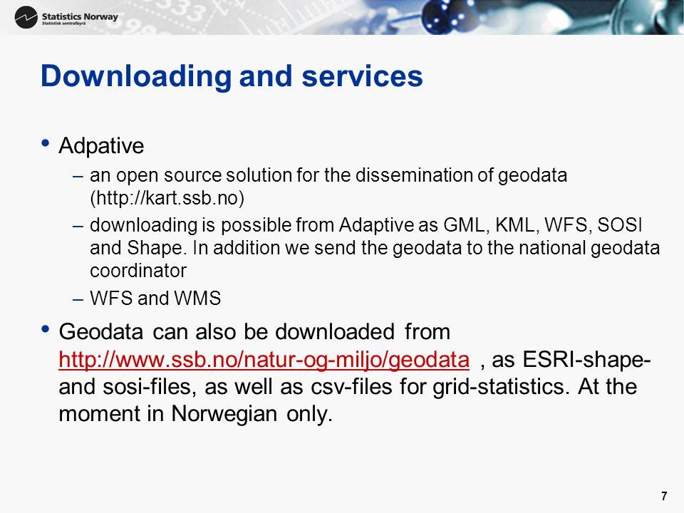 geodata kart 1 1 Inspire and Statistics Norway Nordic forum for geostatistics  geodata kart