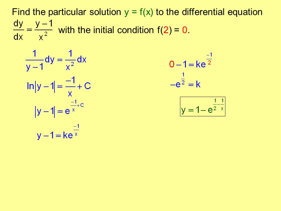 Section 9 4 – Solving Differential Equations Symbolically