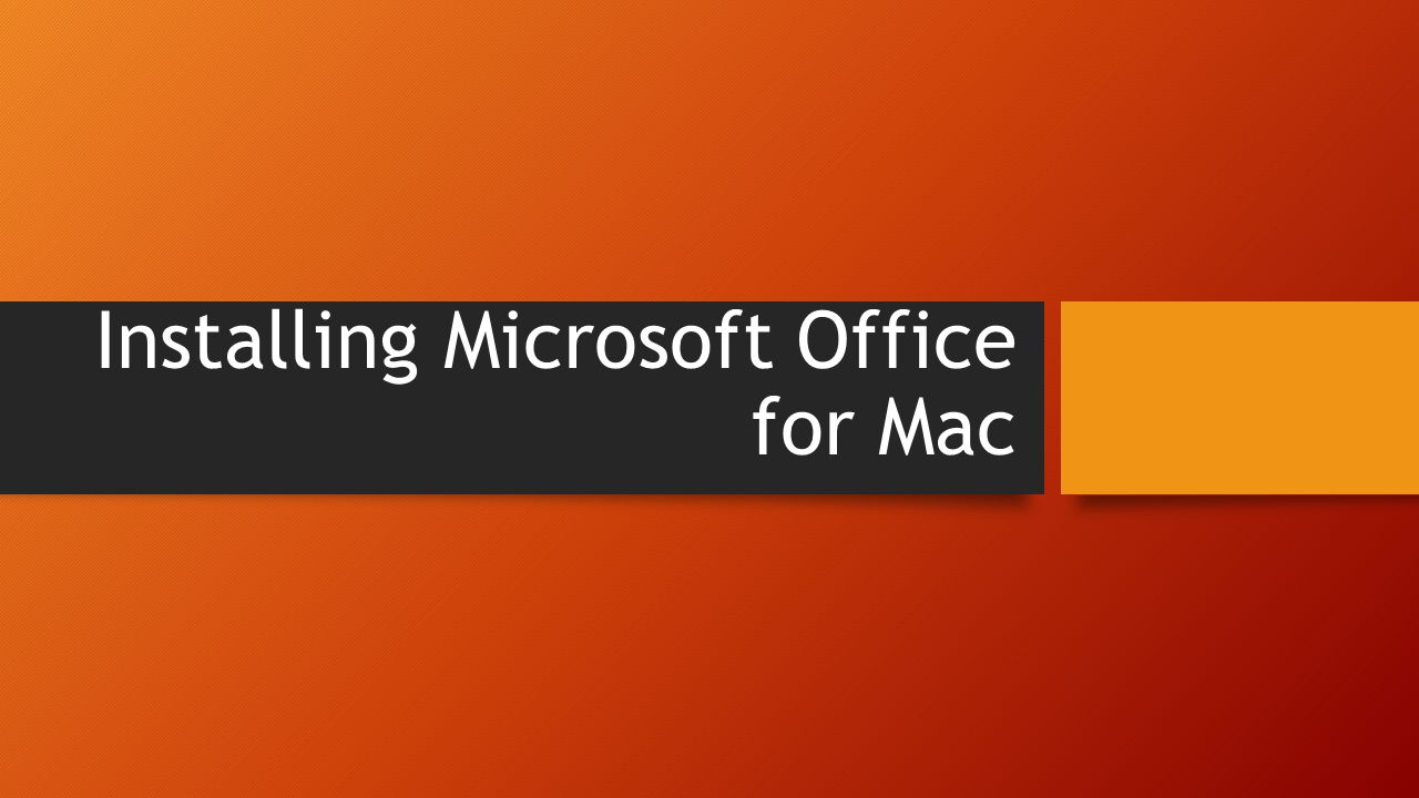 microsoft office for mac student free