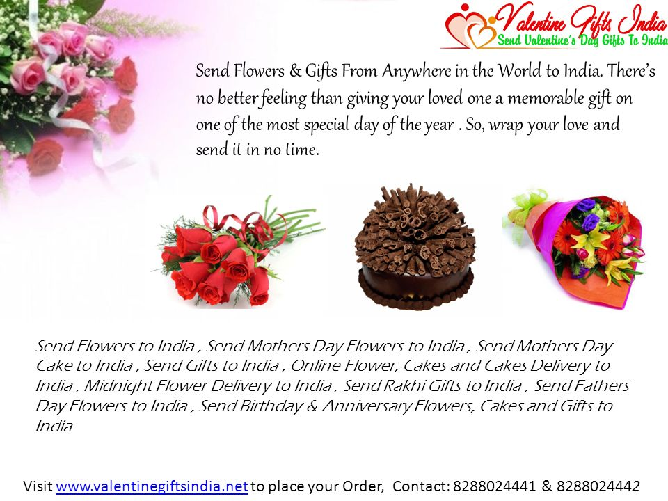 Send Flowers Gifts From Anywhere In The World To India Theres No