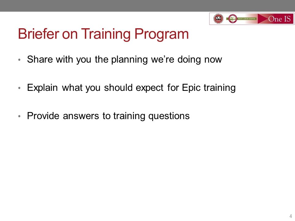 Practice Manager Town Hall Epic Implementation Updates April 29 Ppt