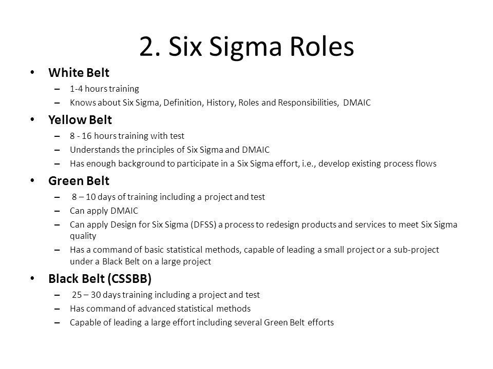 An Introduction To Six Sigma For Project Managers Charlie Durr Pmp