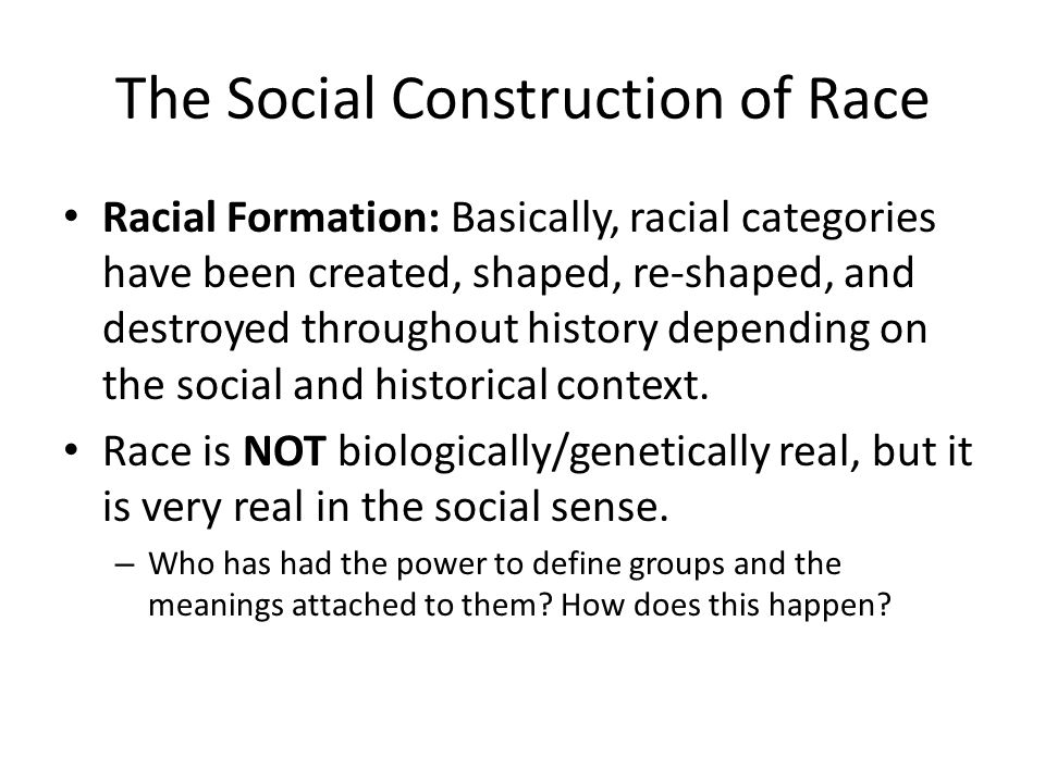 Racial And Ethnic Inequality Lecture Outline I The Significance Of
