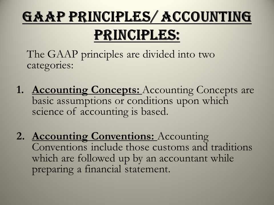 generally accepted accounting principles and prepaid Liquid assets are readily convertible into cash or other assets, and they are generally accepted as payment for liabilities cash includes cash on hand (petty cash), bank balances (checking, savings, or money-market accounts), and cash equivalents.