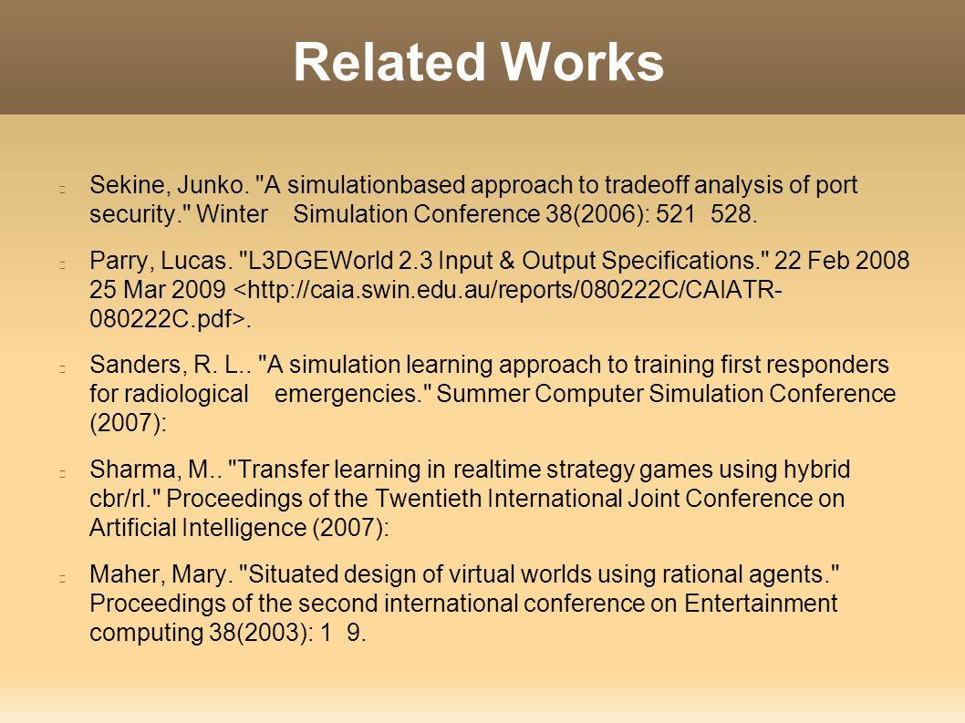 Port Locale Modeling And Scenario Evaluation In 3D Virtual