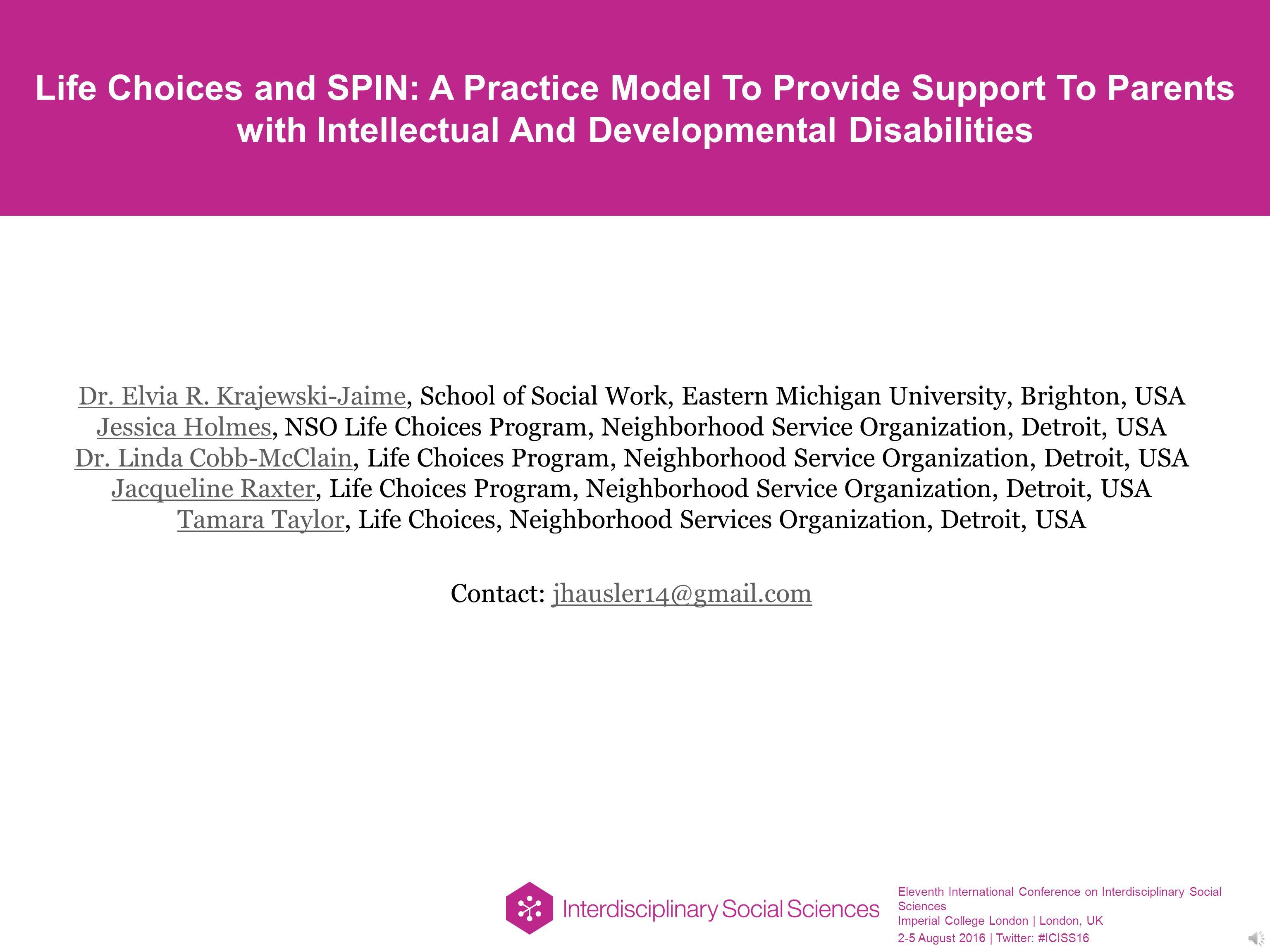 Eleventh International Conference On Interdisciplinary Social Elvia Top Ml 20