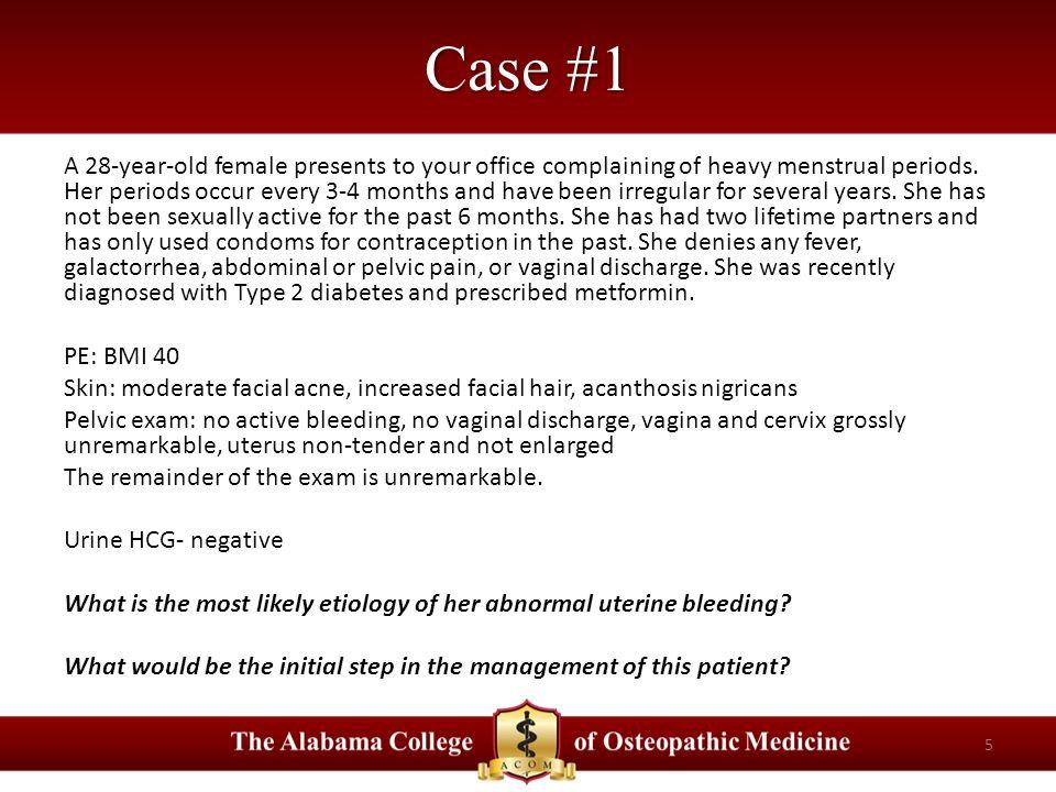 Abnormal Uterine Bleeding E  Hengstebeck, D O ppt download