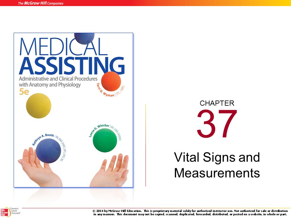 Chapter 37 Vital Signs And Measurements 37 2 Learning Outcomes Cont