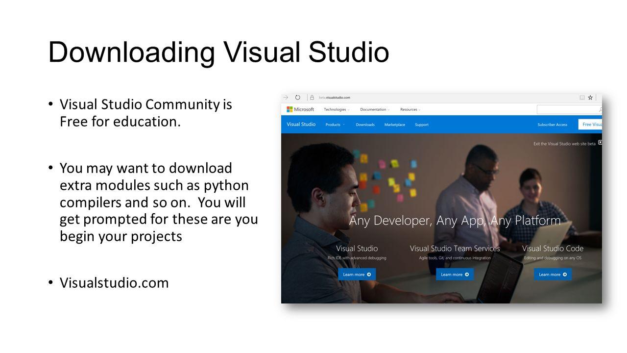 Setting up visual studio for ue4.