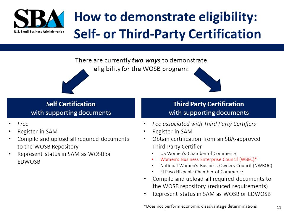 an overview certify.sba.gov the women-owned small business program ...