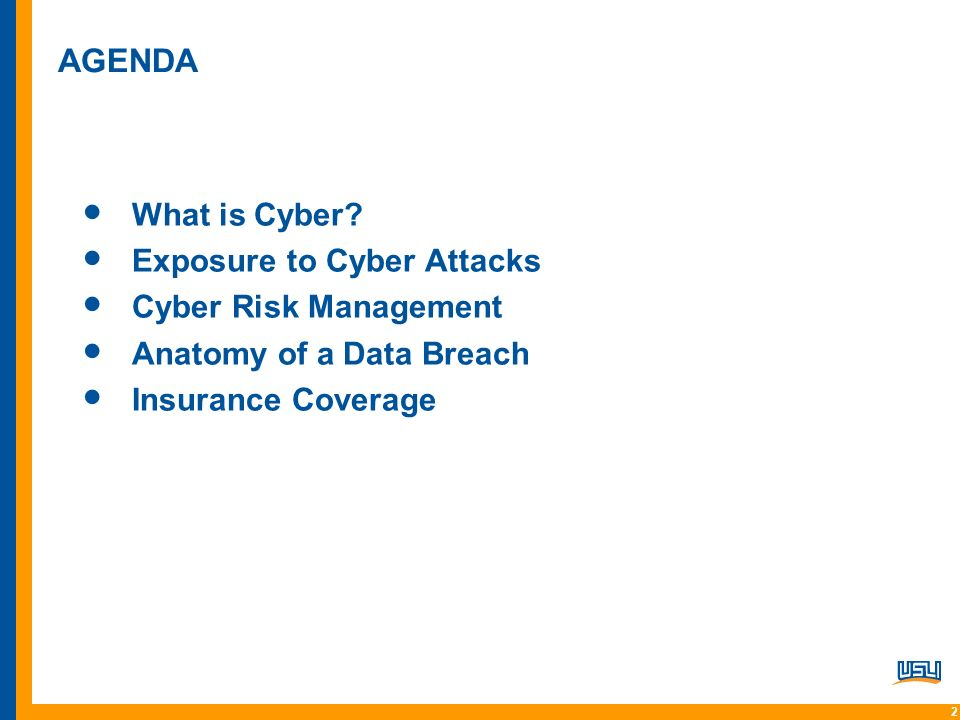 Cyber Liability and Data Security+. 22 AGENDA What is Cyber ...