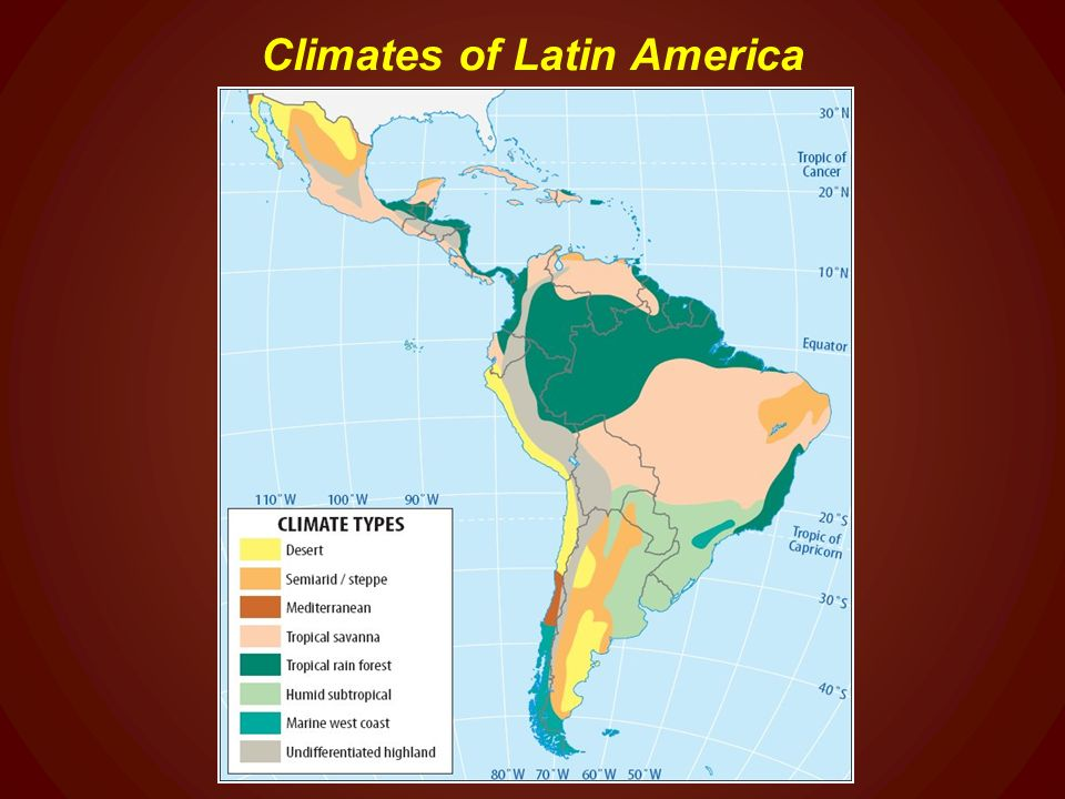 World Regional Geography Chapter 10: A Geographic Profile of ... on map of saint lucia highlands, peru highlands, map of guiana highlands, map of latin america and its landforms, map of argentina with lakes labeled, map of red sea highlands, map of scotland highlands,