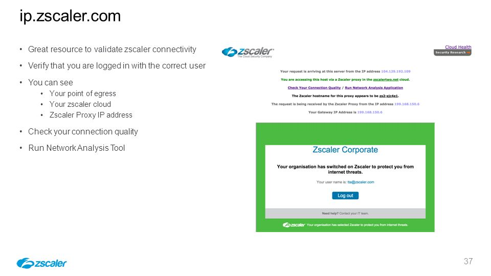 Zscaler F90 First 90 Day Customer Experience Guide On