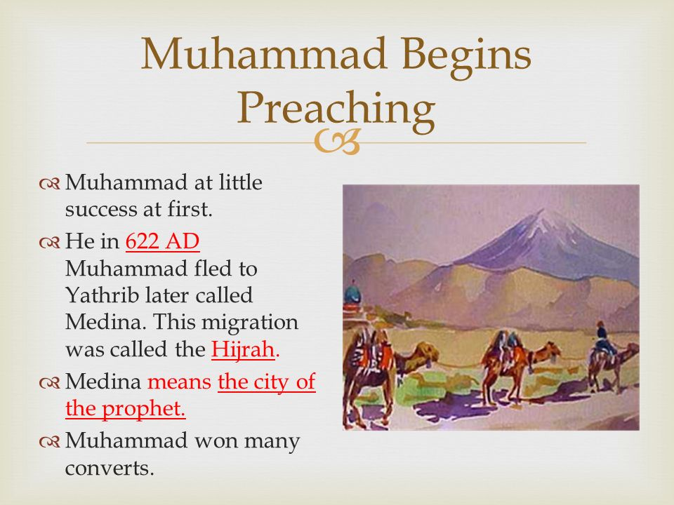 by ms escalante muhammad the prophet at 40 years old
