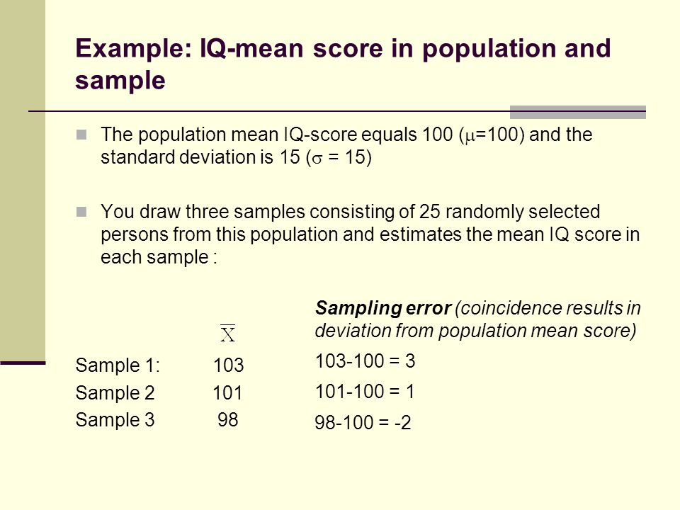 Inferential Statistics Psy Central Concepts In Inferential
