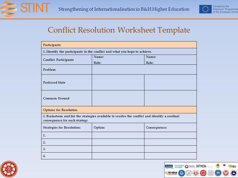 Printable Worksheets conflict management worksheets : Identifying Conflict Worksheet - Checks Worksheet