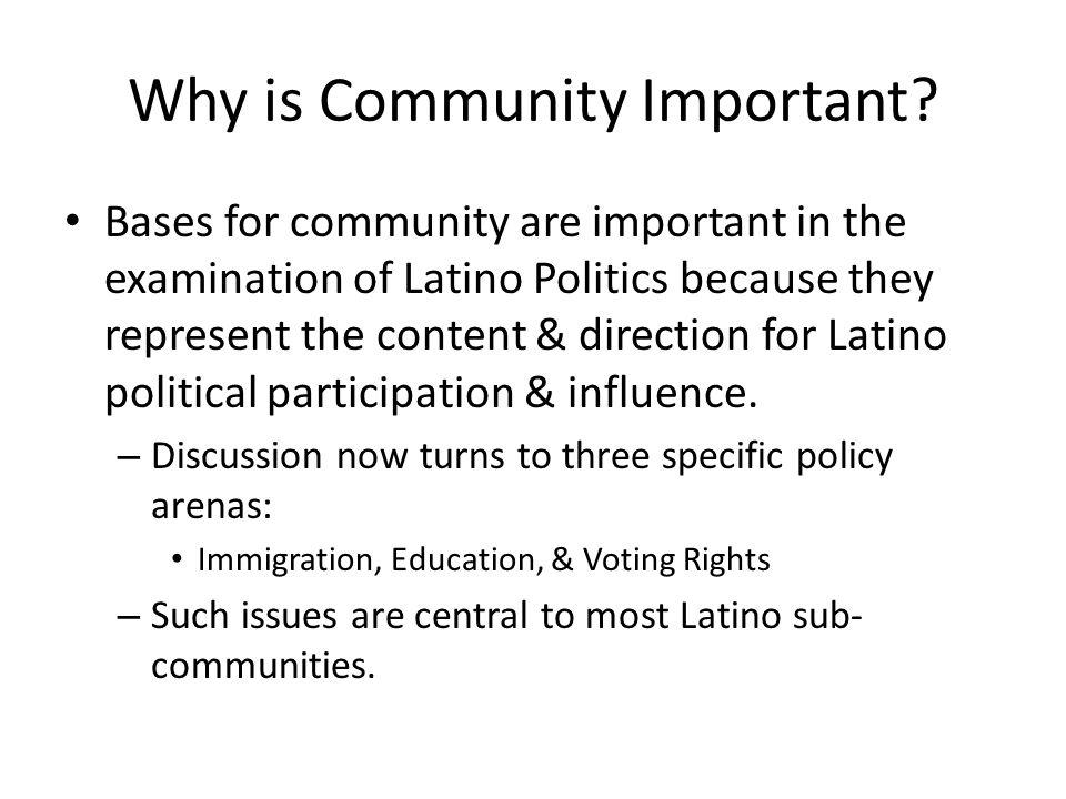 Latino examination