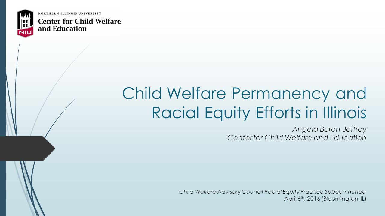 Angela Baron child welfare permanency and racial equity efforts in