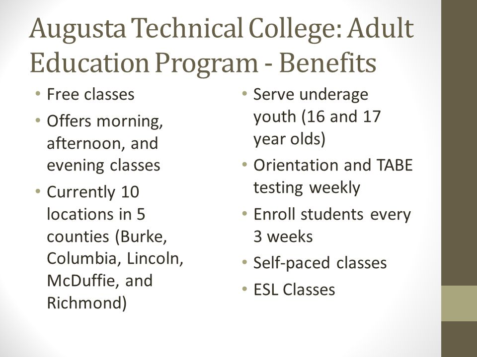 augusta technical college mowr practice test