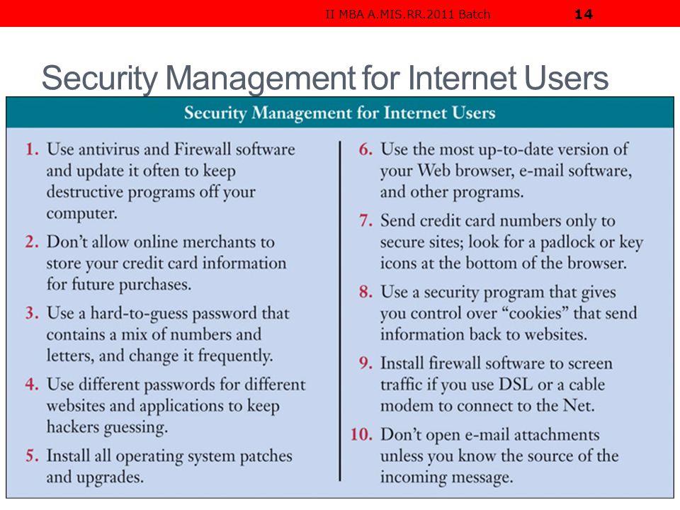 firewall in management information system