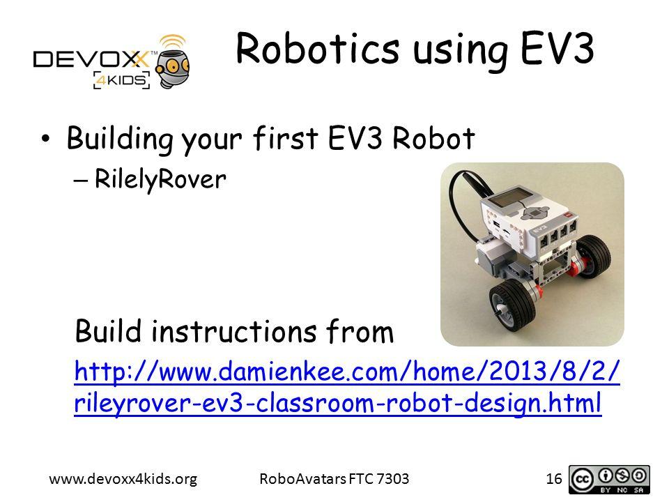 Introduction to Robotics using Lego Mindstorms EV3 Shreya