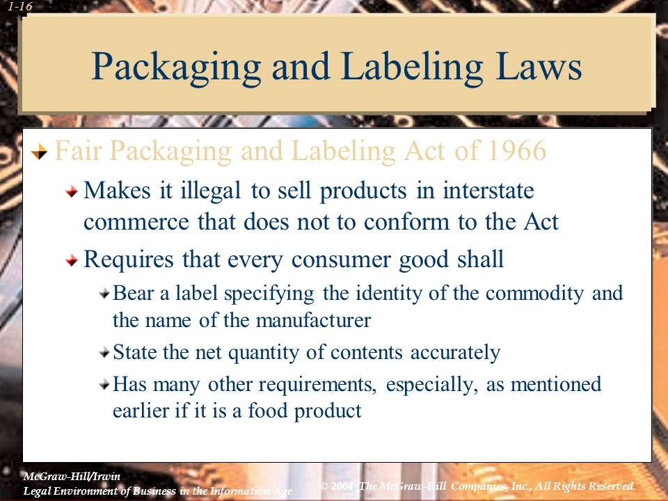 chapter consumer protection legislation and electronic transactions
