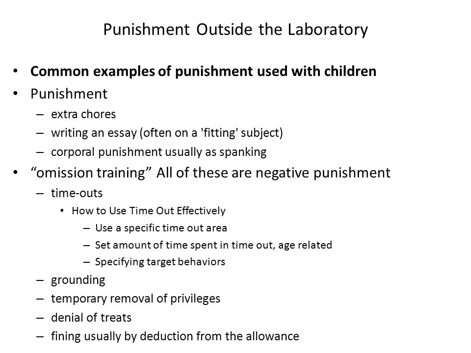 effects of corporal punishment on children essay Argumentative essay corporal punishment  effects of corporal punishment on children when used in the home discussion about corporal punishment is everywhere.
